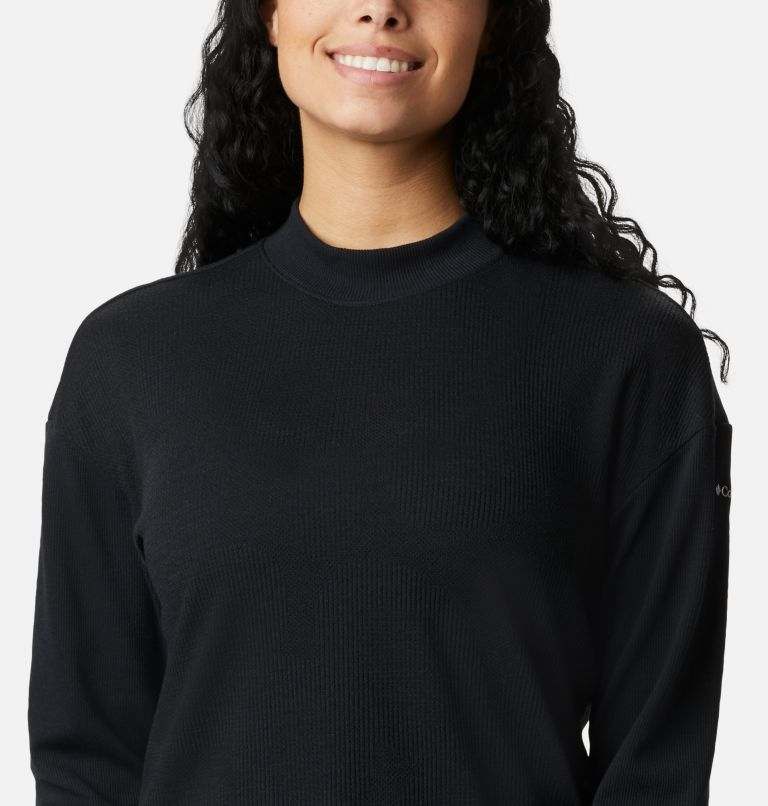 Pine Street™ LS Knit | 010 | L Women's Pine Street™ Long Sleeve Knit Shirt, Black, a2