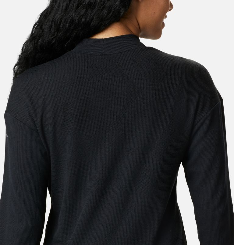 Pine Street™ LS Knit | 010 | S Women's Pine Street™ Long Sleeve Knit Shirt, Black, a3
