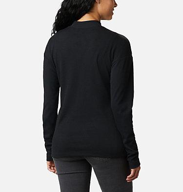 Women's Pine Street™ Long Sleeve Knit Pine Street™ LS Knit | 010 | L, Black, back