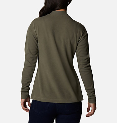 Women's Pine Street™ Long Sleeve Knit Pine Street™ LS Knit | 010 | L, Stone Green, back