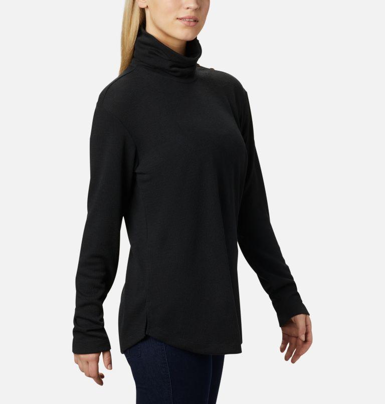 Pine Street™ Split Cowl Neck | 010 | M Women's Pine Street™ Split Cowl Neck Shirt, Black, a3