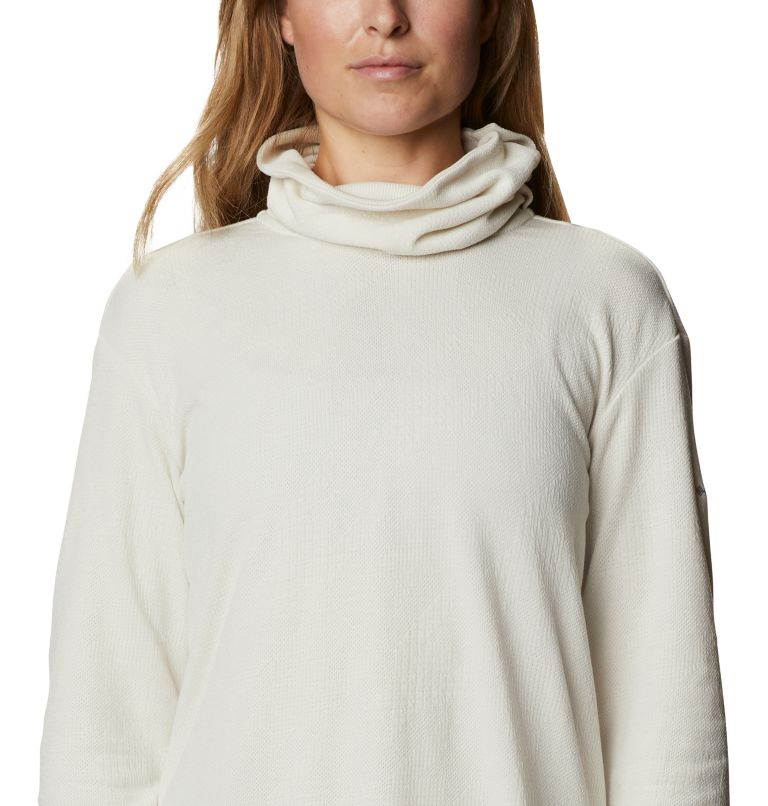 Pine Street™ Split Cowl Neck | 191 | S Women's Pine Street™ Split Cowl Neck Shirt, Chalk, a2