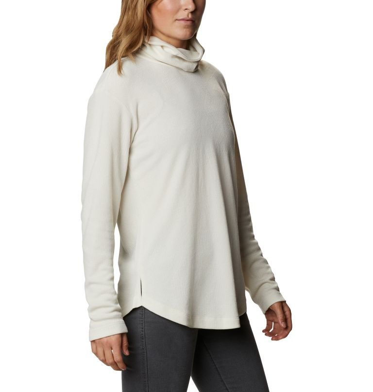 Pine Street™ Split Cowl Neck | 191 | S Women's Pine Street™ Split Cowl Neck Shirt, Chalk, a3
