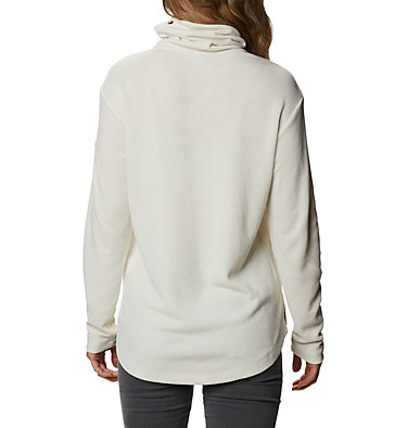 Women's Pine Street™ Split Cowl Neck Shirt Pine Street™ Split Cowl Neck | 485 | L, Chalk, back