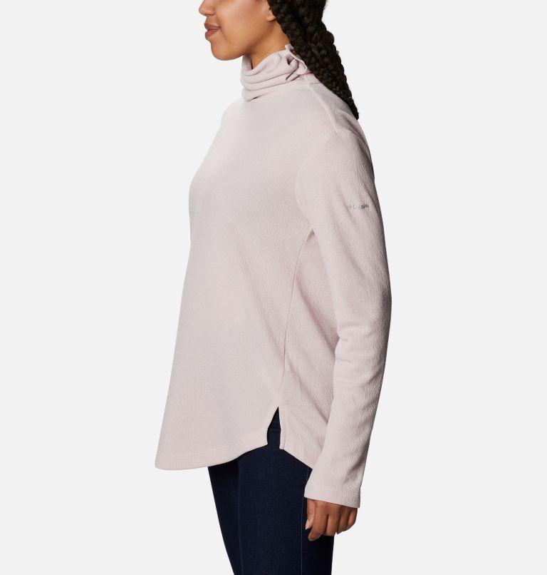 Pine Street™ Split Cowl Neck | 618 | XXL Women's Pine Street™ Split Cowl Neck Shirt, Mineral Pink, a1