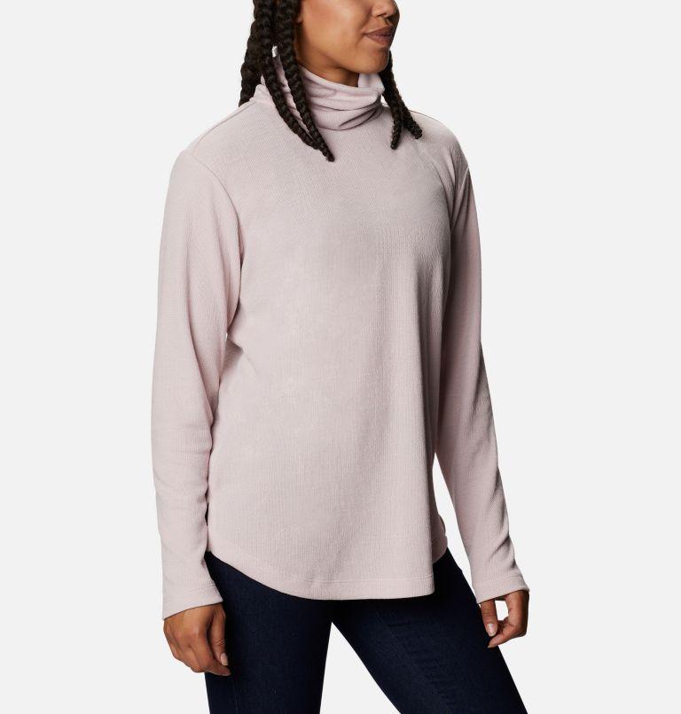 Pine Street™ Split Cowl Neck | 618 | XS Women's Pine Street™ Split Cowl Neck Shirt, Mineral Pink, a3