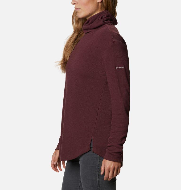 Pine Street™ Split Cowl Neck | 671 | XXL Women's Pine Street™ Split Cowl Neck Shirt, Malbec, a1