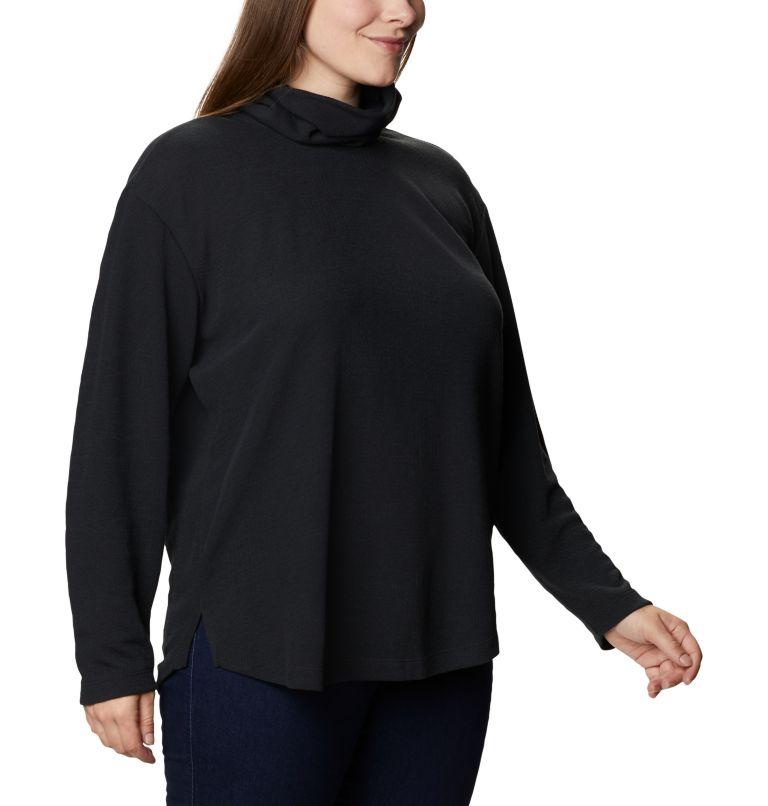 Women's Pine Street™ Split Cowl Neck Shirt - Plus Size Women's Pine Street™ Split Cowl Neck Shirt - Plus Size, a3