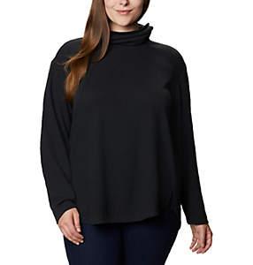 Women's Pine Street™ Split Cowl Neck Shirt - Plus Size