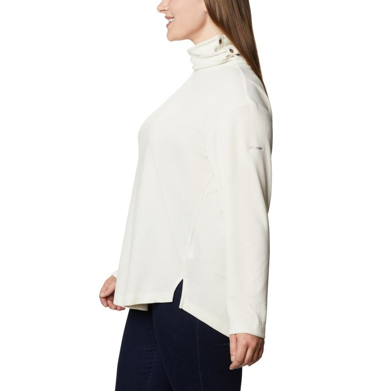 Women's Pine Street™ Split Cowl Neck Shirt - Plus Size Women's Pine Street™ Split Cowl Neck Shirt - Plus Size, a1