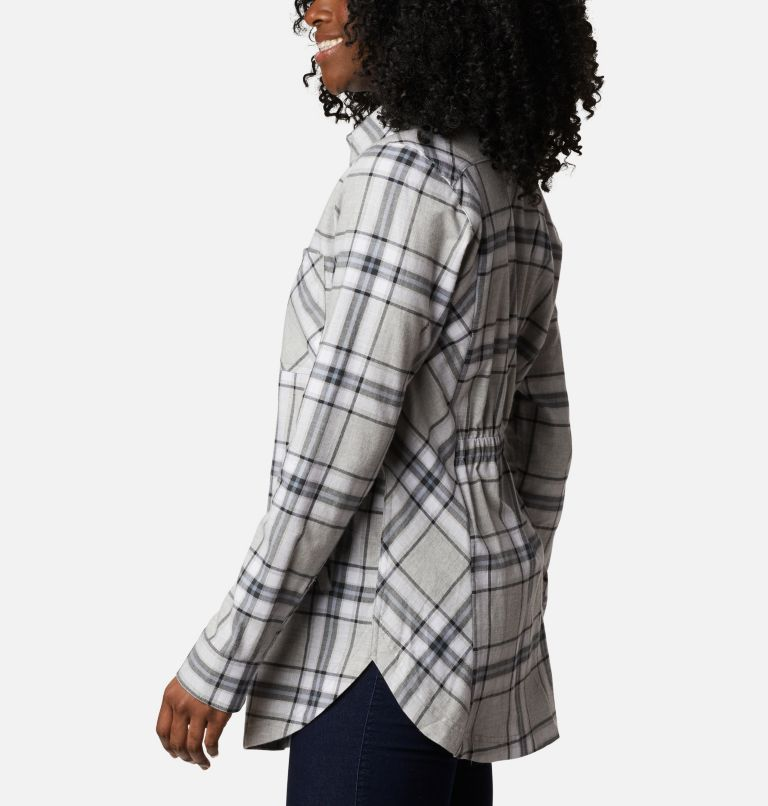 Sunday Summit™ Plaid Tunic | 011 | XL Tunique à carreaux Sunday Summit™ pour femme, Shark Plaid, a1