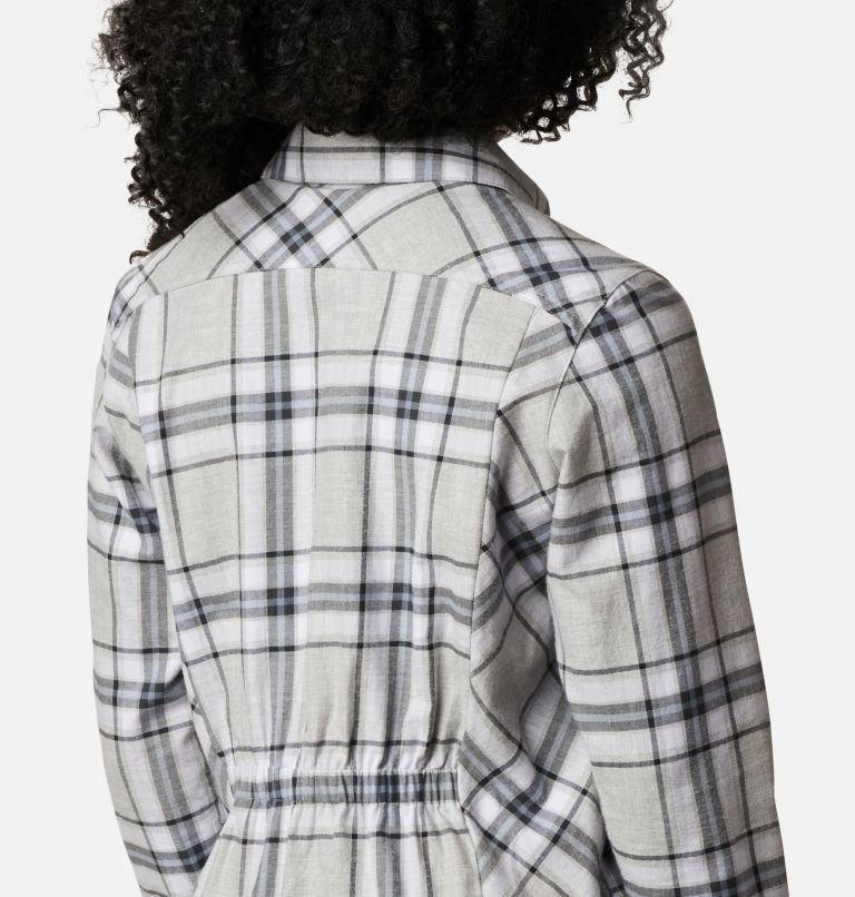 Sunday Summit™ Plaid Tunic | 011 | XL Tunique à carreaux Sunday Summit™ pour femme, Shark Plaid, a3