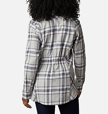 Women's Sunday Summit™ Plaid Tunic Sunday Summit™ Plaid Tunic | 011 | L, Shark Plaid, back