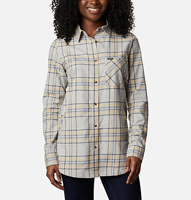 Women's Sunday Summit™ Plaid Tunic Sunday Summit™ Plaid Tunic | 011 | L, Ceramic Plaid, front