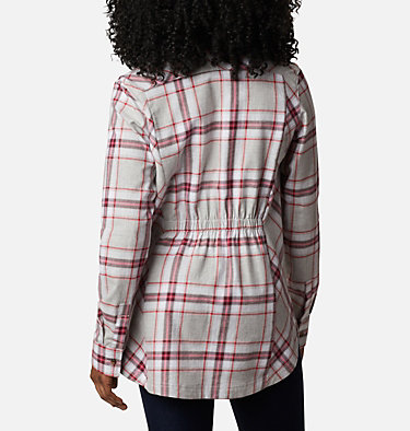 Women's Sunday Summit™ Plaid Tunic Sunday Summit™ Plaid Tunic | 011 | L, Red Lily Plaid, back