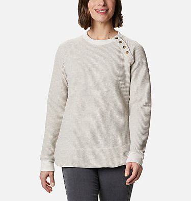 Women's Chillin™ Sweater Chillin™ Sweater | 191 | L, Chalk Thermal, front