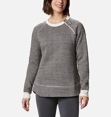 Women's Chillin™ Sweater Chillin™ Sweater | 191 | L, Chalk Houndstooth, front
