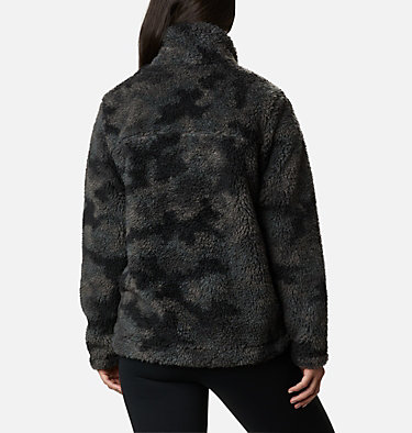 Manteau à fermeture éclair en Sherpa Winter Pass™ pour femme Winter Pass™ Sherpa FZ | 191 | L, Black Camo, back