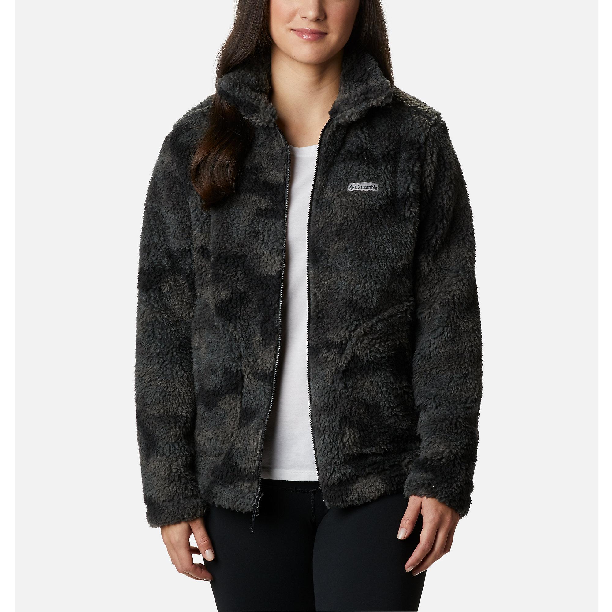 Columbia Collegiate Flanker II Full Zip Fleece Tennessee//Charcoal Heather XL