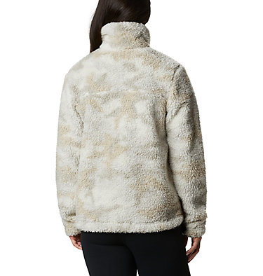 Manteau à fermeture éclair en Sherpa Winter Pass™ pour femme Winter Pass™ Sherpa FZ | 191 | L, Chalk Camo, back