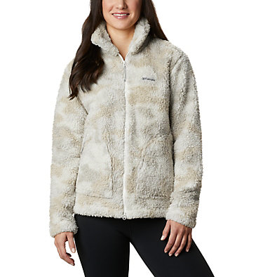 Manteau à fermeture éclair en Sherpa Winter Pass™ pour femme Winter Pass™ Sherpa FZ   191   L, Chalk Camo, front