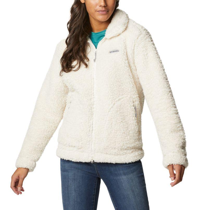 Winter Pass™ Sherpa FZ | 192 | XS Women's Winter Pass™ Sherpa Full Zip Jacket, Chalk, front