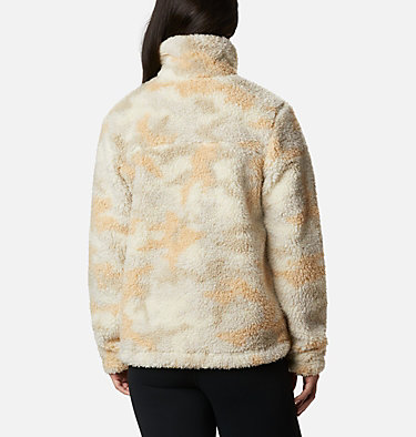 Veste polaire Winter Pass femme Winter Pass™ Sherpa FZ | 191 | L, Chalk Camo, back