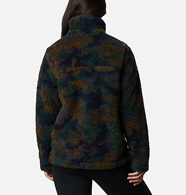 Veste polaire Winter Pass femme Winter Pass™ Sherpa FZ | 191 | L, Dark Nocturnal Camo, back