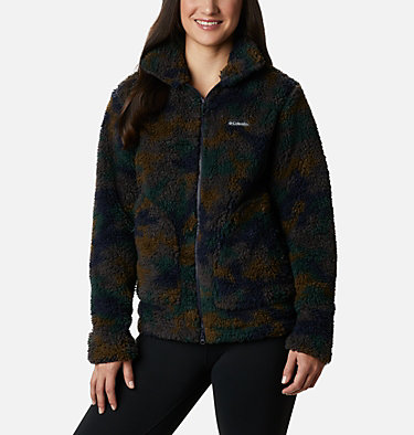 Veste polaire Winter Pass femme Winter Pass™ Sherpa FZ | 191 | L, Dark Nocturnal Camo, front