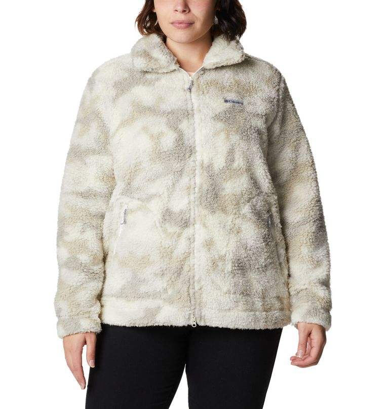Women's Winter Pass™ Full Zip Fleece Jacket - Plus Size Women's Winter Pass™ Full Zip Fleece Jacket - Plus Size, a4