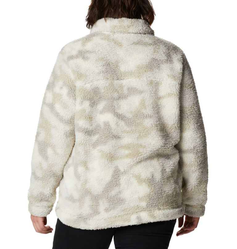 Women's Winter Pass™ Full Zip Fleece Jacket - Plus Size Women's Winter Pass™ Full Zip Fleece Jacket - Plus Size, back