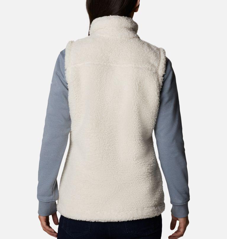 Winter Pass™ Sherpa Vest | 191 | XXL Women's Winter Pass™ Sherpa Vest, Chalk, back