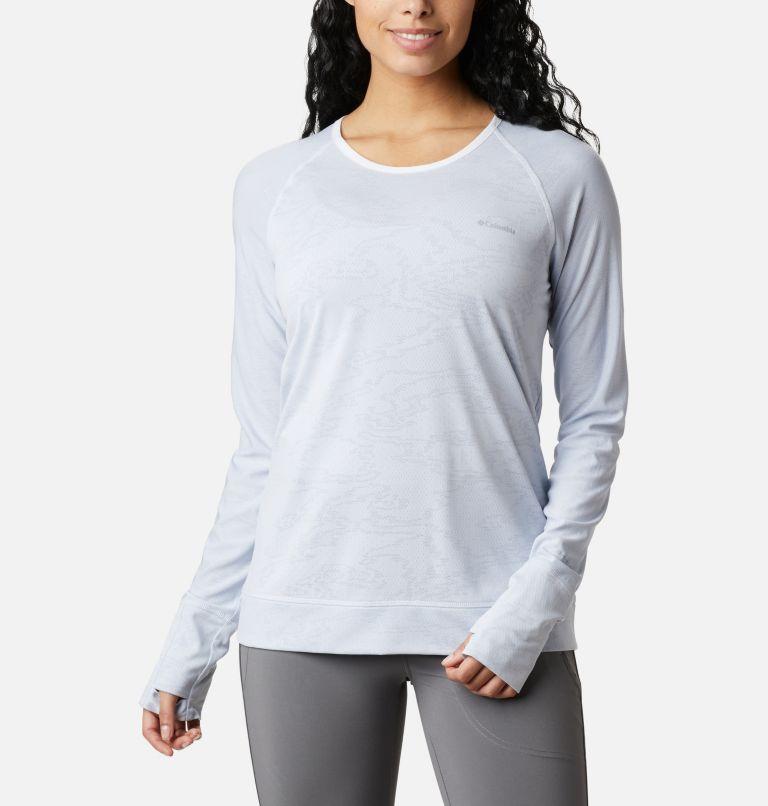 Adventura Hiking™ LS Tee | 100 | XL Adventura Hiking™ Long Sleeve T-Shirt, White Tiger Mesh Camo, front