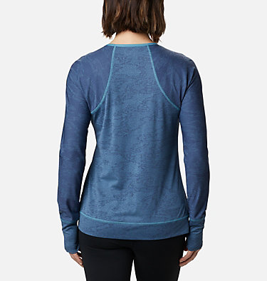 Adventura Hiking™ Long Sleeve T-Shirt Adventura Hiking™ LS Tee | 673 | L, Canyon Blue Tiger Mesh Camo, back