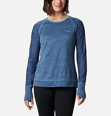 Adventura Hiking™ Long Sleeve T-Shirt Adventura Hiking™ LS Tee | 673 | L, Canyon Blue Tiger Mesh Camo, front