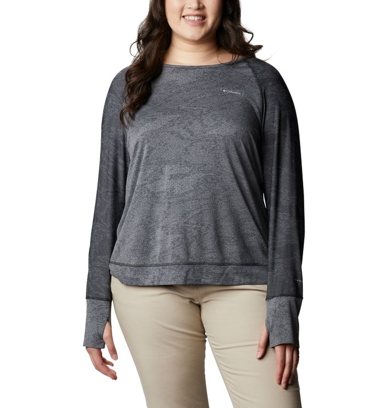 Adventura Hiking™ Long Sleeve T-Shirt -Plus Size Adventura Hiking™ Long Sleeve T-Shirt -Plus Size, front