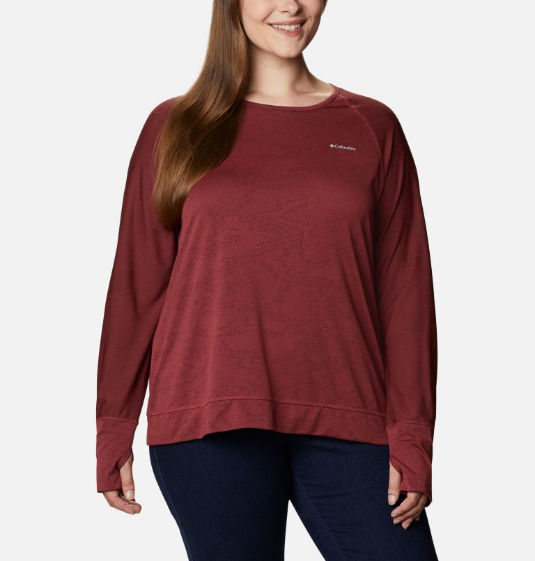 T-shirt à manches longues Adventura Hiking™ pour femme - Grandes tailles T-shirt à manches longues Adventura Hiking™ pour femme - Grandes tailles, front