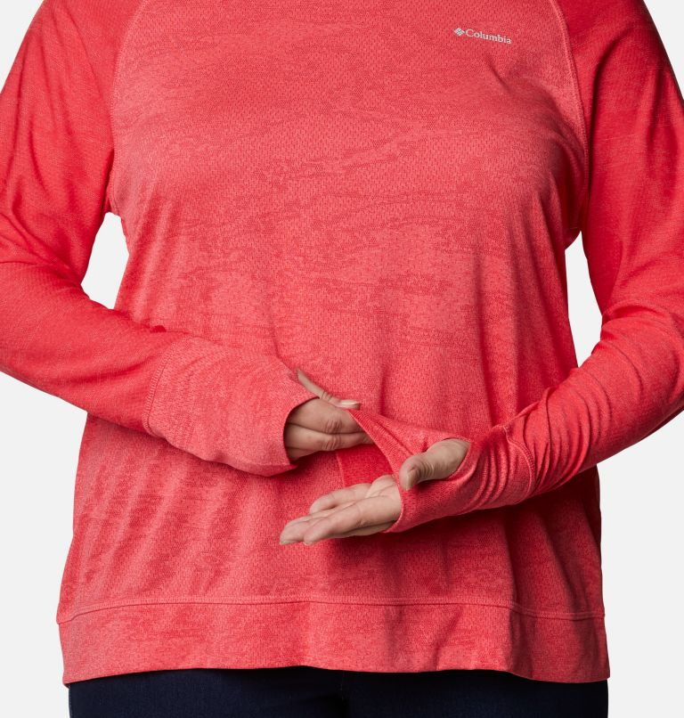 Adventura Hiking™ Long Sleeve T-Shirt -Plus Size Adventura Hiking™ Long Sleeve T-Shirt -Plus Size, a3