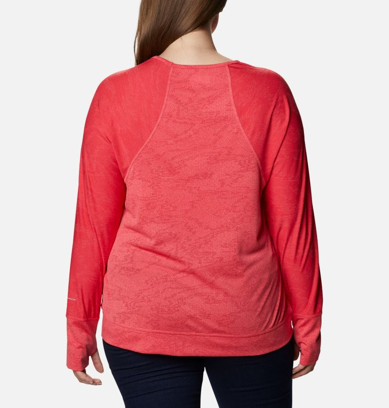 Adventura Hiking™ Long Sleeve T-Shirt -Plus Size Adventura Hiking™ Long Sleeve T-Shirt -Plus Size, back