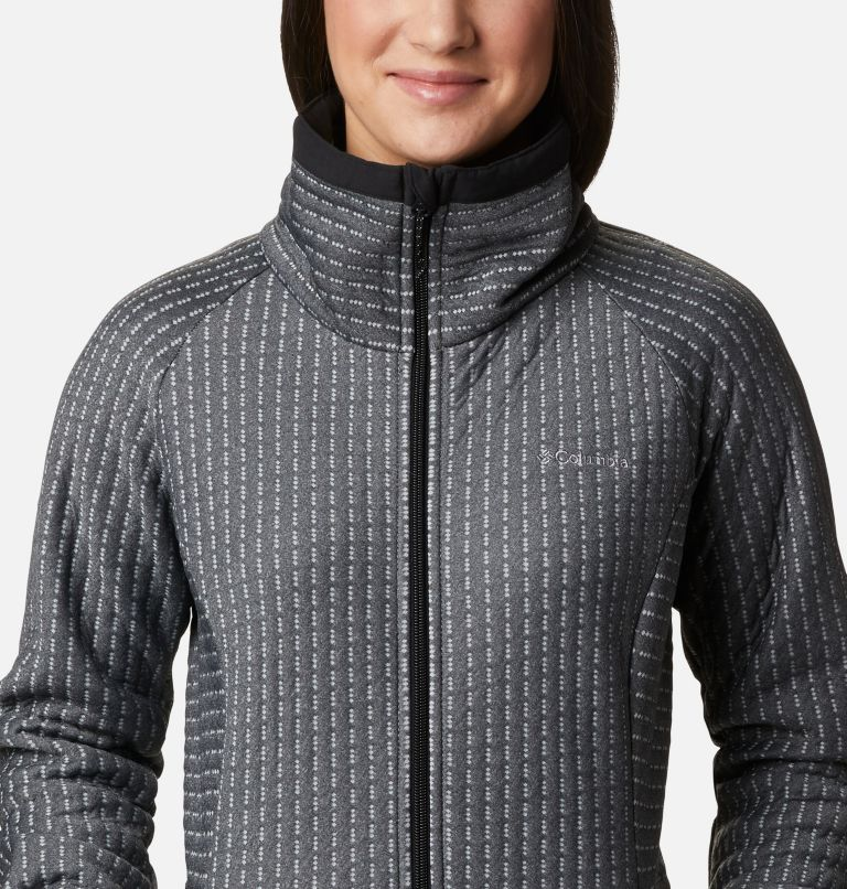 Saturday Trail™ Full Zip | 010 | M Women's Saturday Trail™ Full Zip Jacket, Black Heather, a2