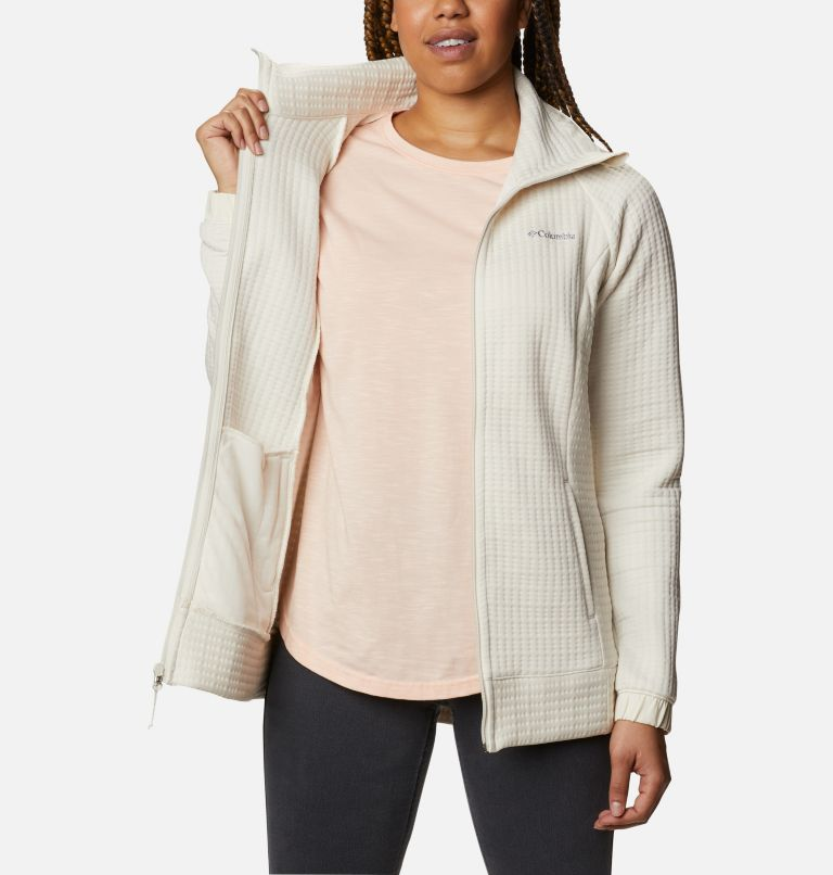 Saturday Trail™ Full Zip | 191 | M Women's Saturday Trail™ Full Zip Jacket, Chalk Heather, a3