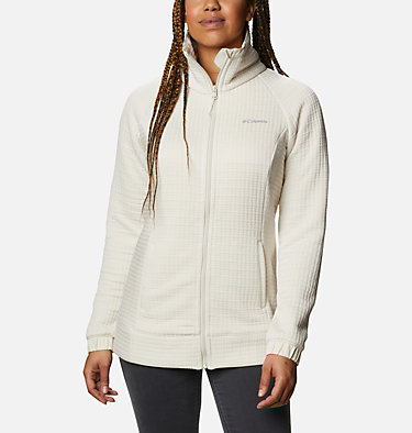 Women's Saturday Trail™ Full Zip Jacket Saturday Trail™ Full Zip | 673 | L, Chalk Heather, front