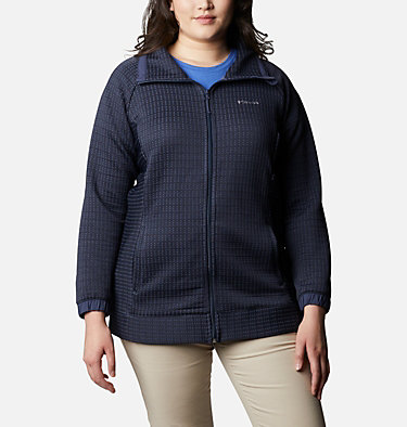 Manteau à fermeture éclair Saturday Trail™ pour femme - Grandes tailles Saturday Trail™ Full Zip   673   2X, Nocturnal, front