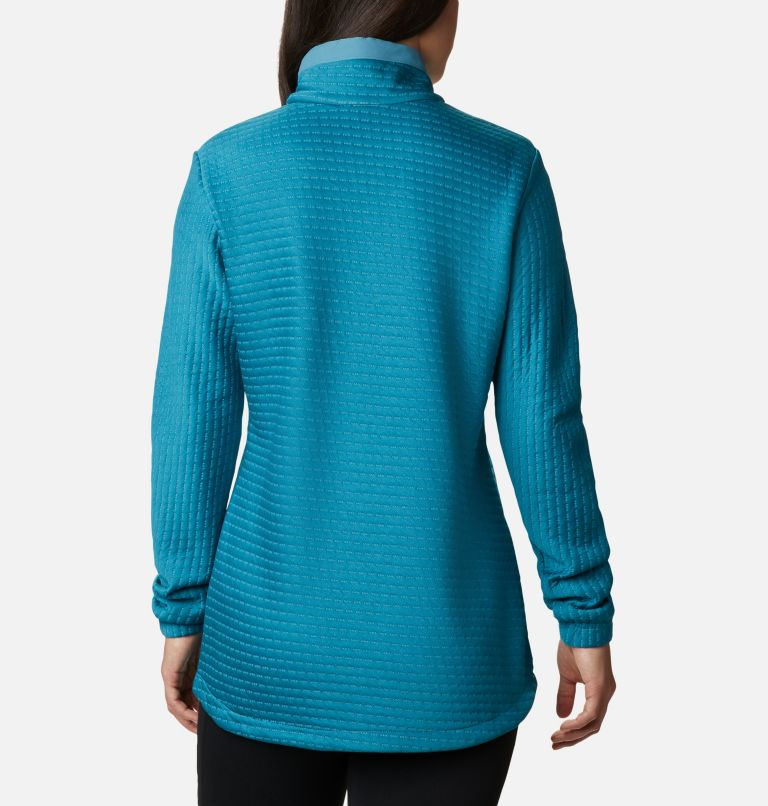 Saturday Trail™ Pullover | 430 | XL Women's Saturday Trail™ Pullover, Canyon Blue Heather, back