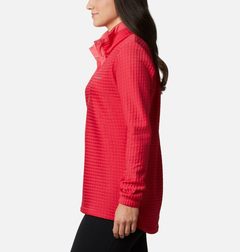 Saturday Trail™ Pullover | 673 | XS Women's Saturday Trail™ Pullover, Bright Geranium Heather, a1