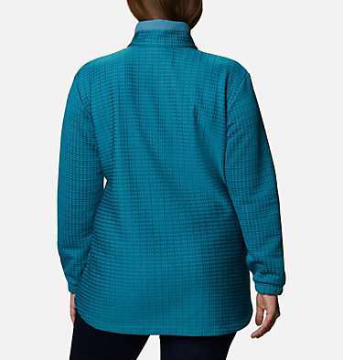 Chandail Saturday Trail™ pour femme – Grandes tailles Saturday Trail™ Pullover | 673 | 2X, Canyon Blue Heather, back