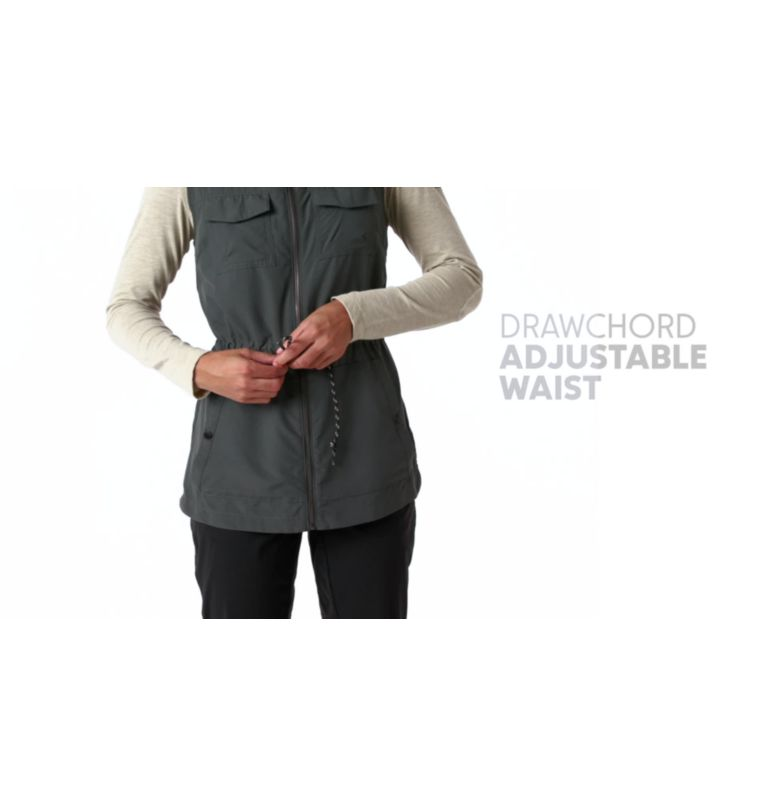 Silver Ridge™ Vest   010   M Women's Silver Ridge™ Vest, Black, video
