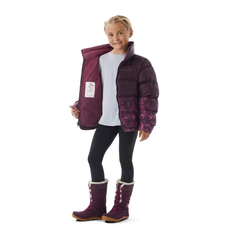 Girls' Disney Anna Puffer Jacket Girls' Disney Anna Puffer Jacket, a1