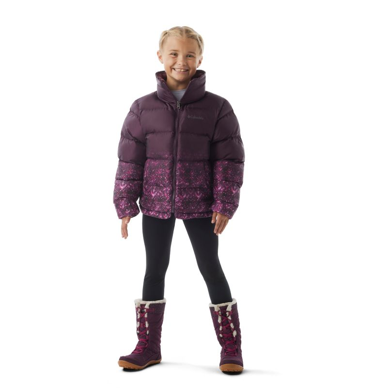 Girls' Disney Anna Puffer Jacket Girls' Disney Anna Puffer Jacket, a2