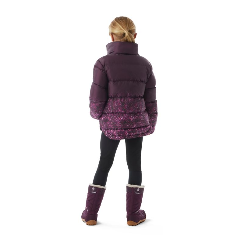 Girls' Disney Anna Puffer Jacket Girls' Disney Anna Puffer Jacket, back